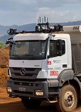 Caminhão automatizado